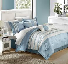 Designer Bedding Collections Discount Chic Home Torino Pleated Piecing Luxury Bedding Collection 11 Piece Comforter Set King Blue