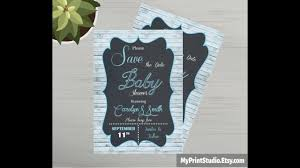 Save The Date Template Word Save The Date Baby Shower Card Template Made In Ms Word