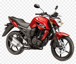 yamaha fz16 red motorcycle bike png