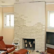 refacing a brick fireplace with stone veneer refinish brick fireplace partially painted brick fireplace reface brick fireplace with paint refinish brick