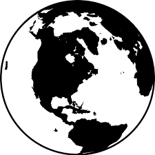 19 Earth Clip Art Library Download Black And White Huge Freebie