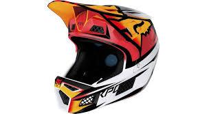 Fox Rampage Pro Carbon Bst Fullface Helmet Size L Ice