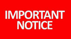 Notice – TES MUN 2075