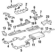 parts com® mercedes benz catalyst partnumber 1634901236 2000 mercedes benz ml430 base v8 4 3 liter gas exhaust components