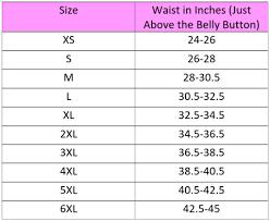 Pluss Size Chart India Waist Training Corset Size Chart Measurement Waist