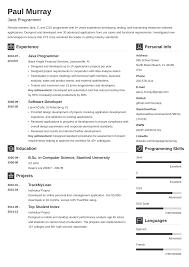 Resume Of Computer Engineer Resume Programmer Resume Exampleputer Template Mainframe