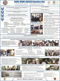 gsmc muhs unesco bioethics unit king edward memorial hospital dr salagre poster