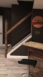 Best  Industrial Basement Ideas On Pinterest - Unfinished basement stairs