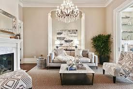 image of hanging living room chandelier