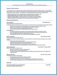 Administrative Resume Examples Free Officer Summary Assistant Sample