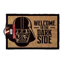 Star Wars Doormat - Welcome To The Dark Side Door Mat   Menkind