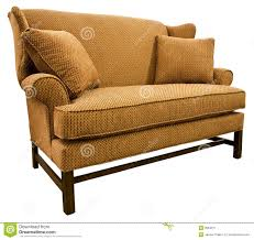 chippendale settee loveseat stock image  image