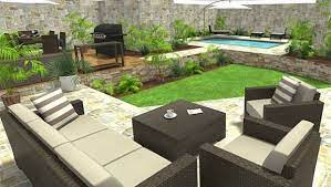 how to create outdoor areas with