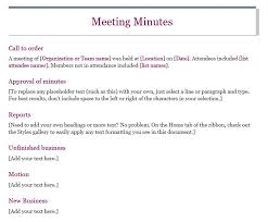 Office Meeting Minutes 13 Meeting Minutes Templates To Help You Ace Your Nonprofit