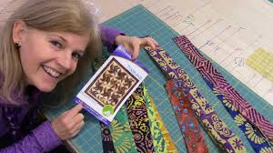 Part 1: Tradewinds Quilt with an Indian Batik Jelly Roll - YouTube & Part 1: Tradewinds Quilt with an Indian Batik Jelly Roll Adamdwight.com