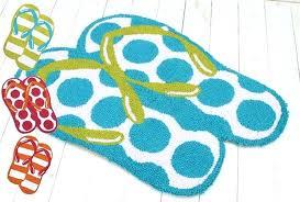 flip flop rug runner flip flop rug flip flops e colorful summer beach coir doormat assorted flip flop rug runner