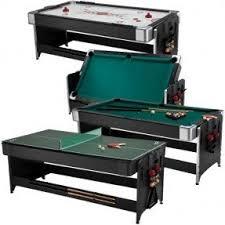 Multi use pool table