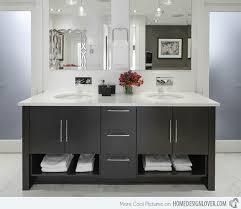 black bathroom vanity. stunning bathroom renovations black vanity