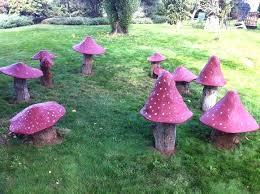 outdoor mushroom decor mushrooms large garden mushroom decorations mushroom garden decor diy