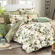 winlife fl bedding american country style duvet cover set shabby vintage bedroom set girls bed cover