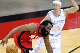 The Lakers beat the Rockets so badly that James Harden quit on the team  again - Silver Screen and Roll