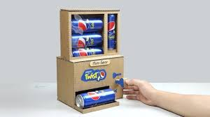 Make Vending Machine Key Delectable How To Make Pepsi Vending Machine With Secret Key YouTube