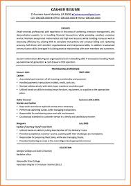 Cashier Resume Example Cashier Resume  Download Cashier Duties And Responsibilities  Resume Cashier Resume