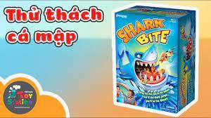 Thử thách Cá Mập cùng Anh Khoai Tây và Chị Lily ToyStation 157 - YouTube
