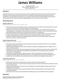 Senior Financial Accountant Cv Sample Resume Reporting Example