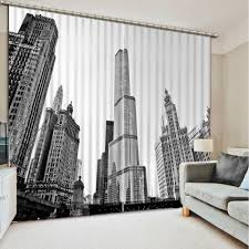 White And Black Curtains For Living Room Compare Prices On White Room Black Curtains Online Shopping Buy
