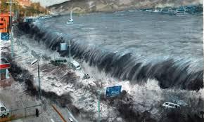Resultado de imagen de tsunamis imagenes publicadas