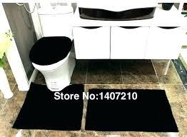 black and white bathroom rugs sets bear rug gray bath furniture charming set