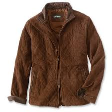 Quilted Suede Jacket For Men / Quilted Suede Jacket -- Orvis UK & Quilted Suede Jacket Adamdwight.com
