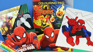 Please browse through the title listings below or use the search bar at the top of this page to quickly find a specific title. Spiderman Coloring Pages For Kids How To Color Spiderman Coloring Book By Toyfuntv Youtube