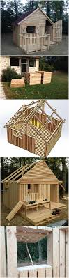 Pallet Home Top 25 Best Pallet House Plans Ideas On Pinterest Diy Playhouse