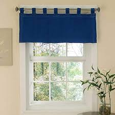tab top valance. Contemporary Tab Denim Tab Top Valance  Blue 57x18u0026quot For N