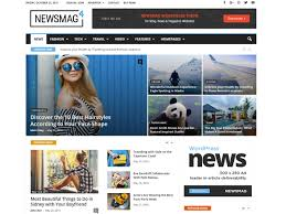 Wordpress Template Newspaper Newsmag Newspaper Wordpress Theme Wordpress