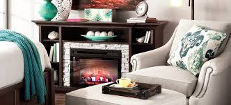 merrick 65 in tv console with 25 in electric fireplace