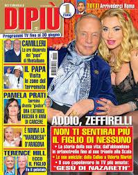 DIPIU' n. 25/2019 – Little Tony: la toccante lettera della figlia Cristiana  Ciacci – Raffaella Ponzo