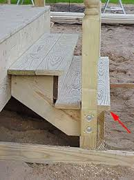 exterior stair treads and nosings. example of stair tread nosing. exterior treads and nosings