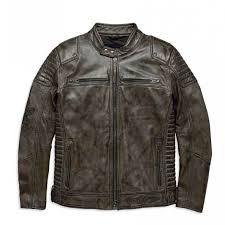 harley davidson men s hamilton washed leather jacket