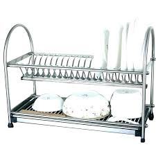 dish rack kitchen drying racks wall mounted dish rack astound stainless kitchen dish drainer wall mounted