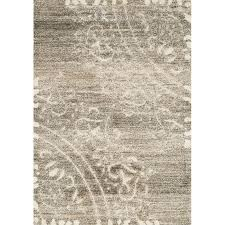 5 x 8 medium beige cream and gray area rug olympia