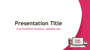 Powerpoint Templates Online Free Free Online Course Powerpoint Template Prezentr Ppt Templates