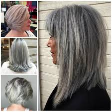 Grey Hairstyles For Mature Women Haircuts Hairstyles 2017 And