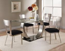 galaxy round clear glass dining table and 4 white chairs. galaxy round clear glass dining table and 4 white chairs m