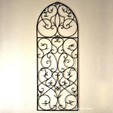 metal wall hangings image of large wrought iron wall decor indoor metal wall art australia