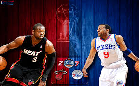 Heat vs 76ers 2011 NBA Playoffs ...