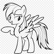 Download Kleurplaat Rainbow Dash Clipart Rainbow Dash Pony Pinkie Pie