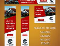 Paint Net Templates Create Banner Ad Templates Freelancer
